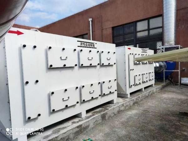 苏州江天电子材料有限公司智能废气处理设备案例