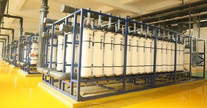 污水处理厂中水回用装置