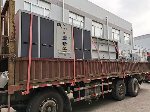 设备发货运输图