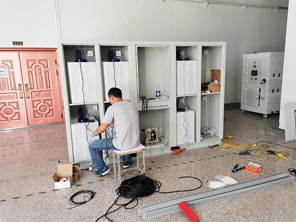 智能水站设备组装图