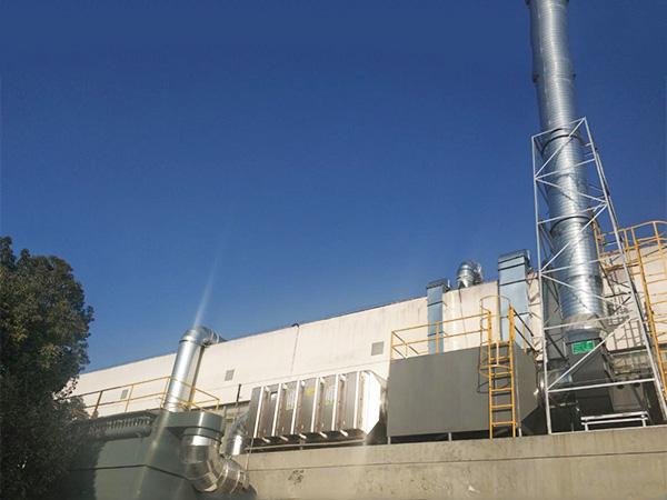 苏州某科技公司智能废气处理设备案例!