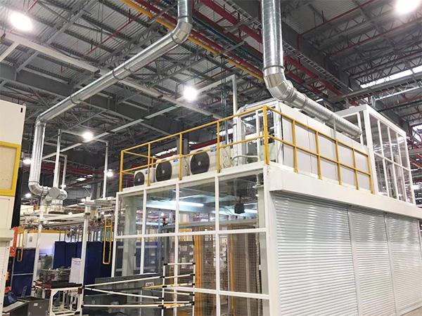 南方佛吉亚智能废气光催化氧化系统使用案例!