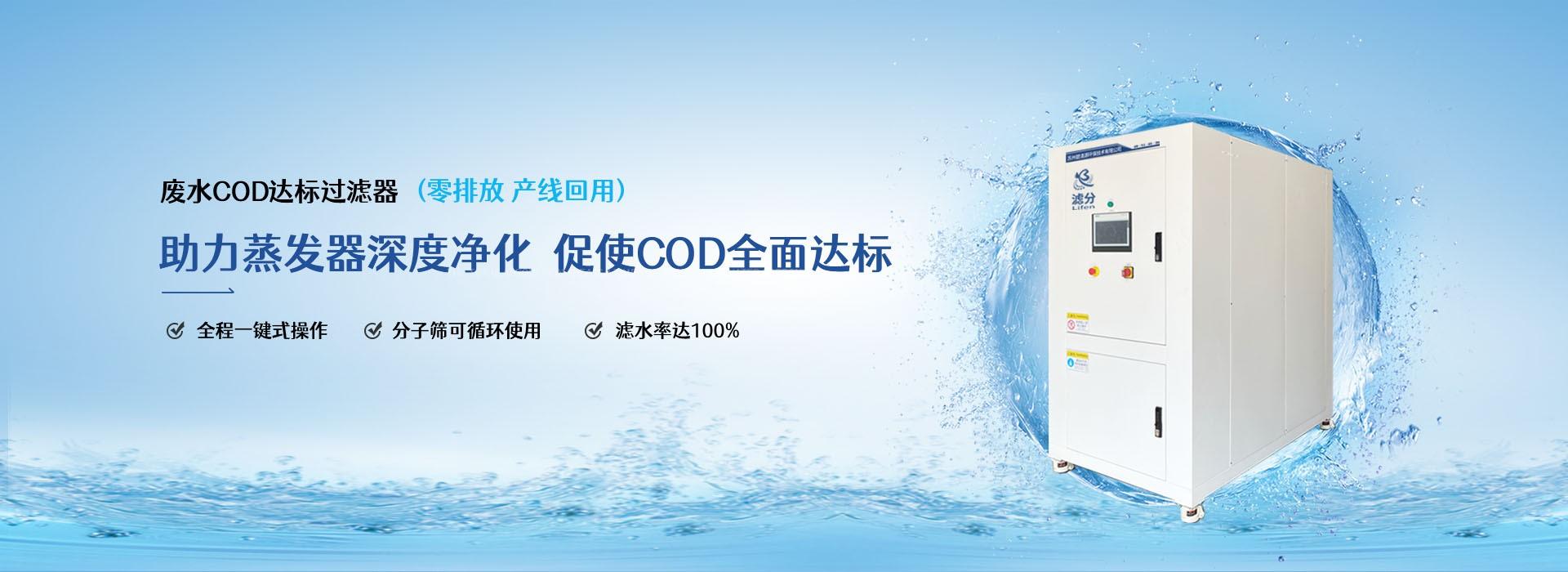 废水COD达标过滤器
